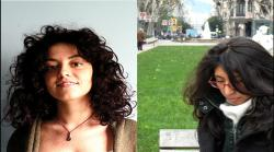 Laura Malinverni y Lilia Villafuerte