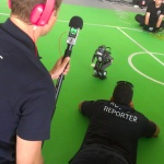 Campus Party Europa - Robots jugando al futbol
