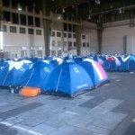 Campus Party Europe - Tiendas de campaña de una de las ocho subaréas de acampada