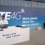 Campus Party Europe - Mostrador informativo sobre LTE4G: More speed, more fun, more Internet