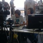 Campus Party Europe - Comentaristas en directo retransmitiendo una de las finales de League of Legends