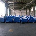 Campus Party Europe - Hangares con cientos de tiendas de campaña