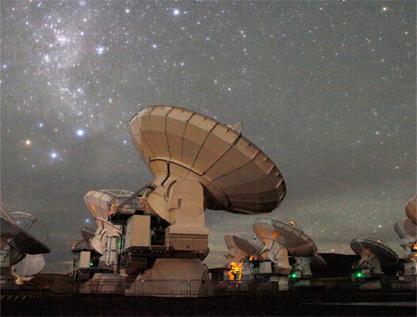 ALMA presenta en Chile el mayor telescopio del mundo
