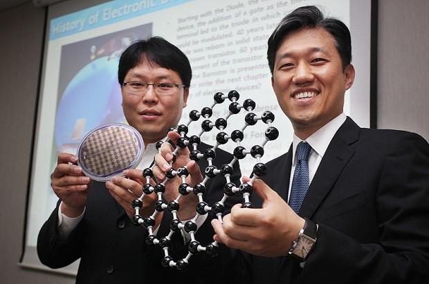Transistor Grafeno Samsung