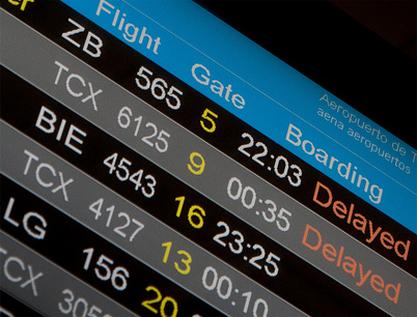 Un algoritmo podría evitar los retrasos en los vuelos