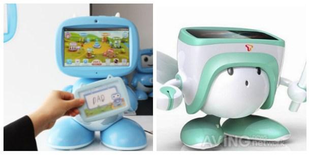 Kibot2 de KT y SK Telecom Smart e-learning robot