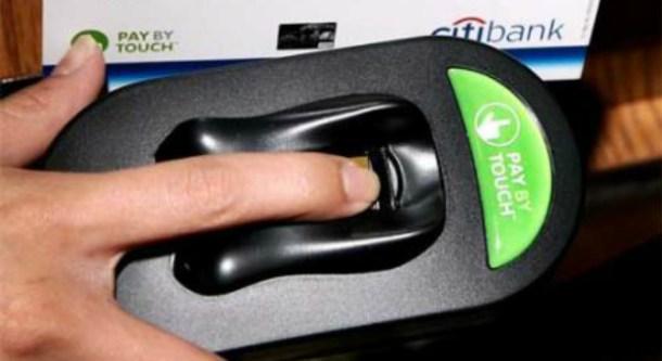 Pagos biométricos mediante huella digital
