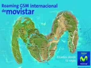 Roaming GSM Internacional de Movistar