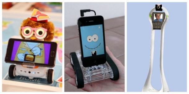 SK Telecom Robot, Romo de Romotive y Telepresence Robot