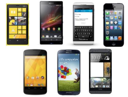 Comparativa entre los smartphones más punteros