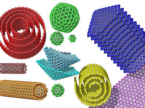 carbono-nanoformas