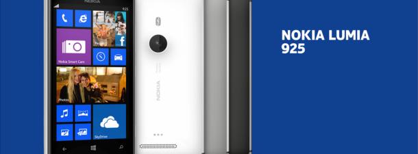 Así es el Nokia Lumia 925, la nueva estrella de Nokia
