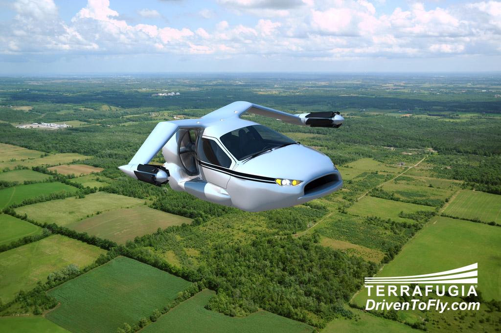 El coche volador empieza a dejar de ser una utopía