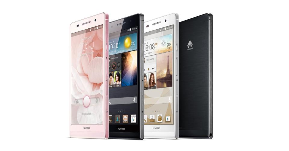 Huawei Ascend P6, el smartphone más delgado del mundo, llega a Movistar