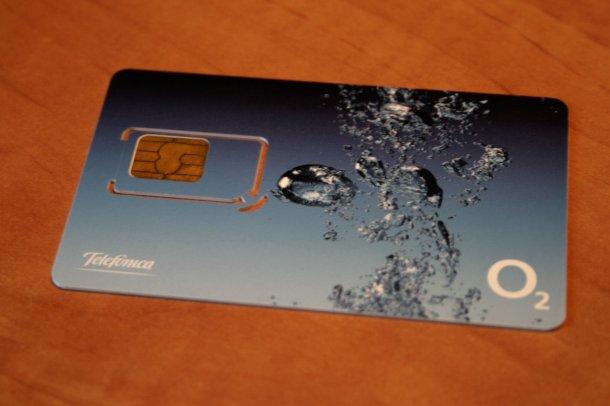 SIM Card Telefonica O2