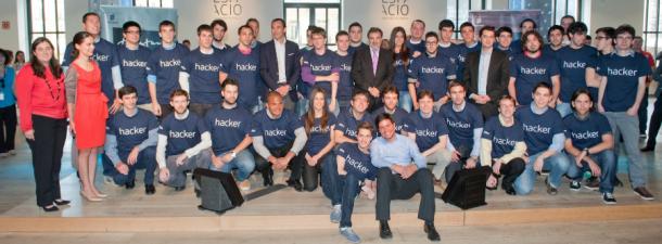 Telefónica, con los jóvenes 'Talentum' españoles