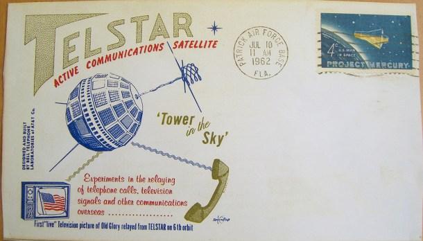 Emision filatelica Telstar 1