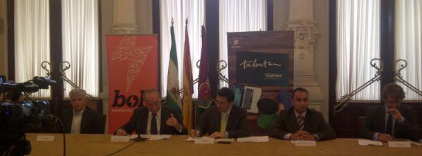 Telefónica y Ericsson apadrinan a los jóvenes Talentum de la Universidad de Málaga