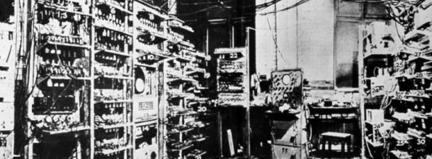 Servidores históricos y los primeros centros de datos
