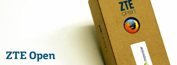 Unboxing de ZTE Open, primer smartphone con Firefox OS