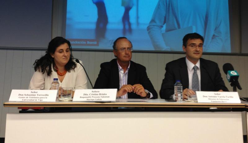 Talentum Startups arranca en Vigo de la mano de Fundación Barrié