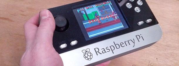 Crea una consola portátil con tu Raspberry Pi