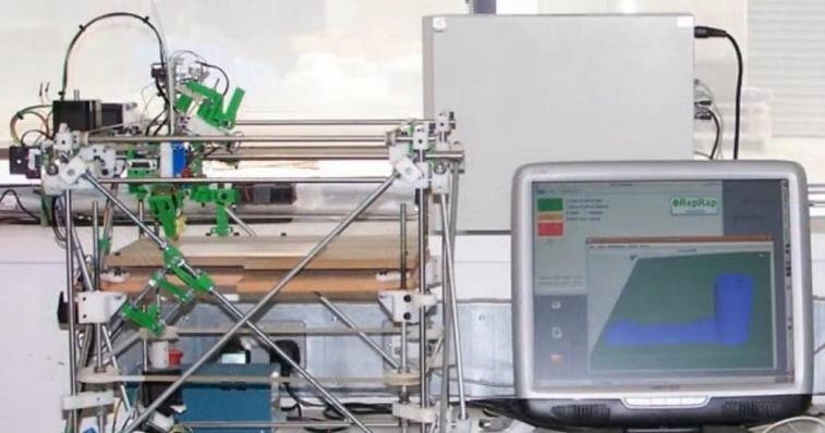RepRap, impresoras 3D low cost que se imprimen a sí mismas