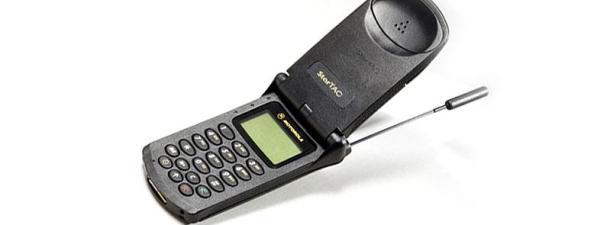 Motorola StarTAC, la joya móvil de los 90