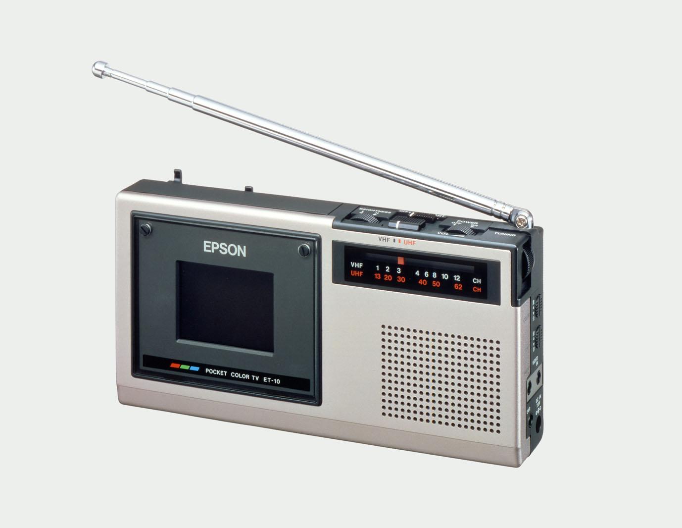 Un día como hoy, en 1984, llegó el primer minitelevisor en color