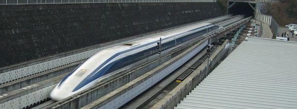 Maglev: cómo funcionan los trenes de levitación magnética