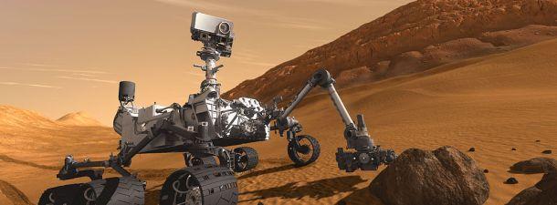 El Rover Curiosity cumple su segundo aniversario explorando Marte