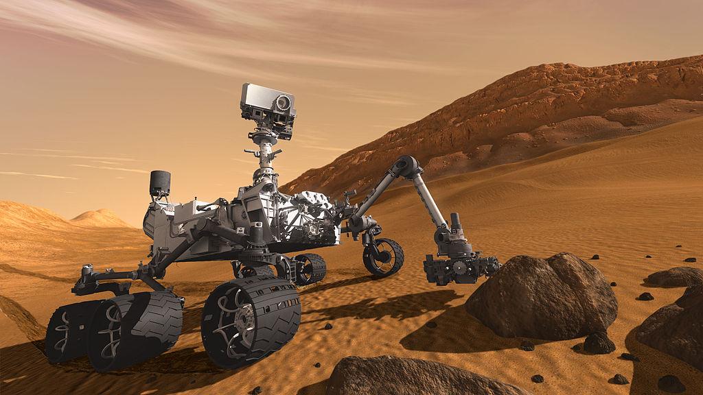El rover Curiosity de la NASA detecta una zona donde pudo haber agua líquida
