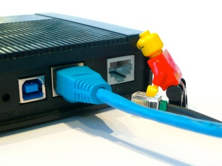 Router con Lego - G.fast