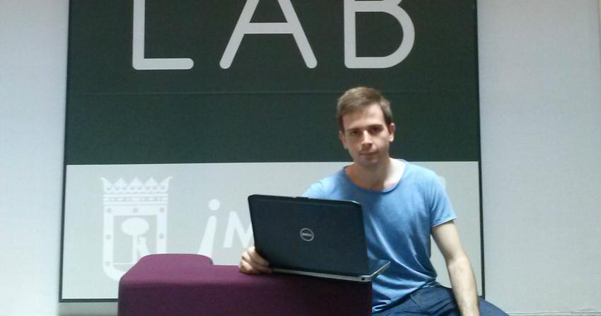 Adrián Crespo, un joven emprendedor con Talentum