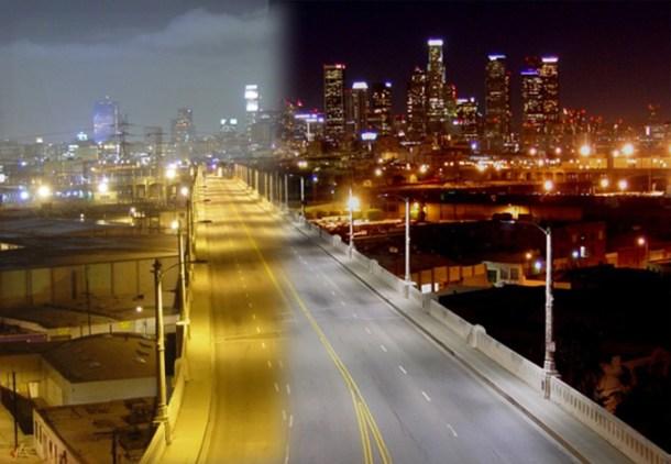 iluminación tecnología LED