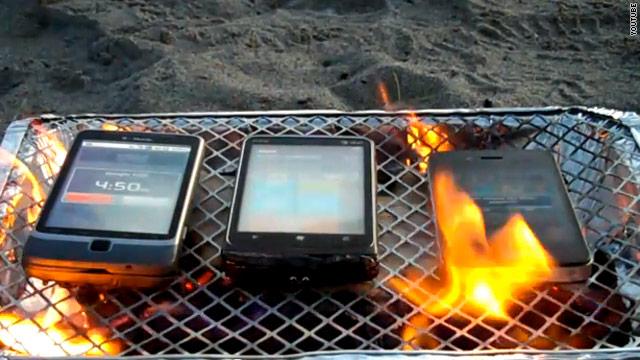 calor en dispositivos móviles
