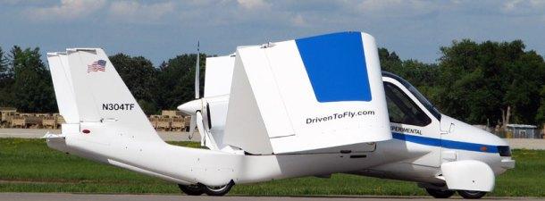 Terrafugia, el coche volador, realiza sus primeras pruebas públicas
