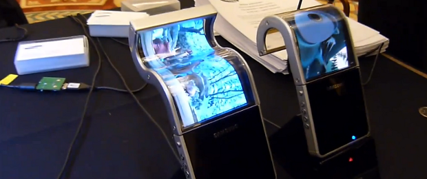 Samsung's flexible screens