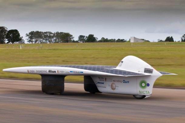 vehículos de energía solar