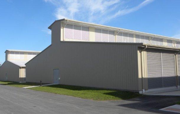 Gallinero de Yahoo - Centro de datos en Nueva York - Centros de datos sostenibles: optimizando la refrigeración de los servidores