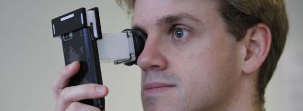Cómo graduar la vista con un smartphone