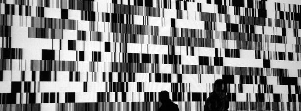 Ryoji Ikeda y la música del Big Data