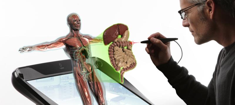 estudios médicos con hologramas 3D
