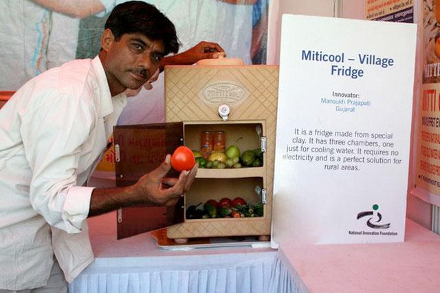 Mitti Cool, la nevera de arcilla que funciona sin electricidad, destinada a países subdesarrollados