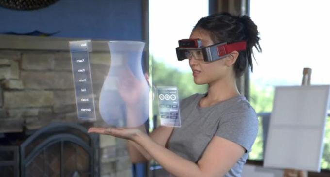 Spaceglasses, más allá de Google Glass