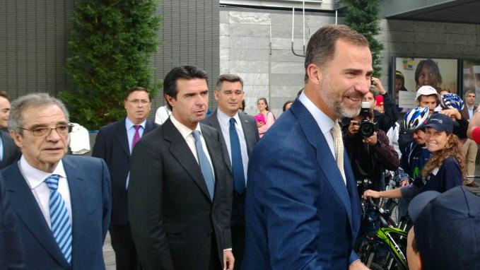 El Príncipe de Asturias conmemora el 25 Aniversario de Telefónica I+D