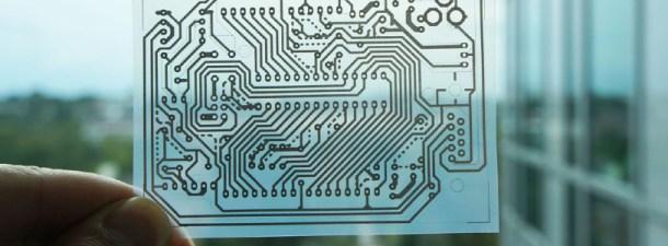 Ordenadores de papel impresos con tinta de plata: suena a ciencia-ficción, pero es el futuro