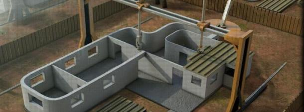Printing houses in 3D to alleviate habitability issues