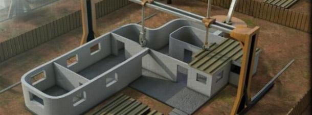 La impresión 3D de casas para reducir los problemas de habitabilidad
