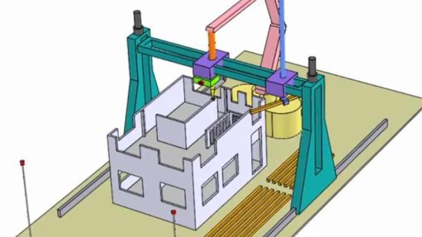 impresión 3d de casas